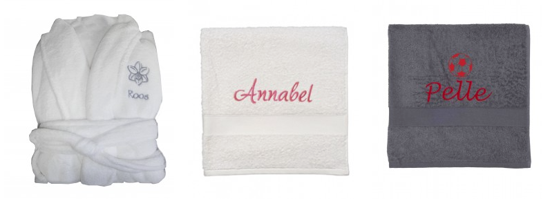 Handdoek Laten Borduren.Handdoeken En Badjassen Borduren In De Regio Westland